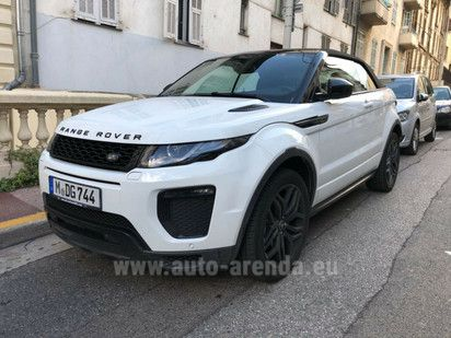 Buy Land Rover Range Rover Evoque Convertible 2017 in Milan, picture 1
