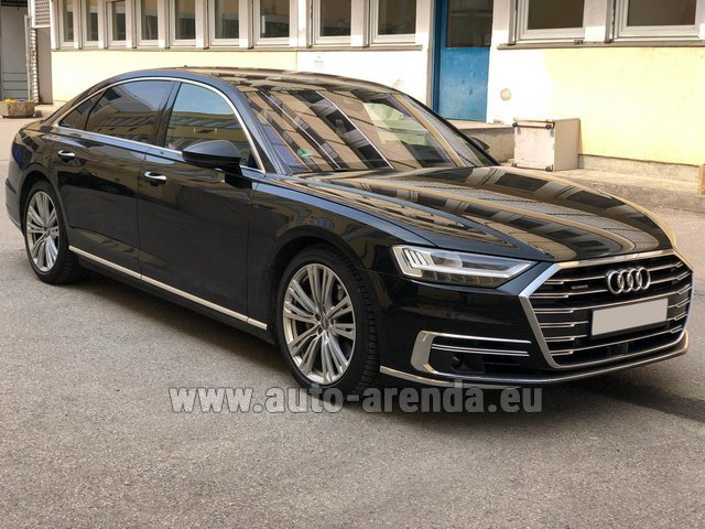 Прокат Ауди A8 Long 50 TDI Quattro в Милане в Ломбардии