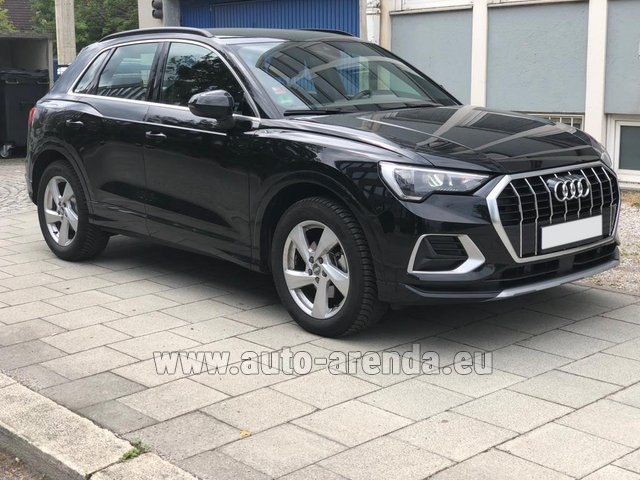 Hire and delivery to the Milan Central Train Station the car Audi Q3 35 TFSI Quattro