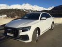 Rent-a-car Audi Q8 50 TDI Quattro with its delivery to the Milano Linate airport (LIN), photo 1