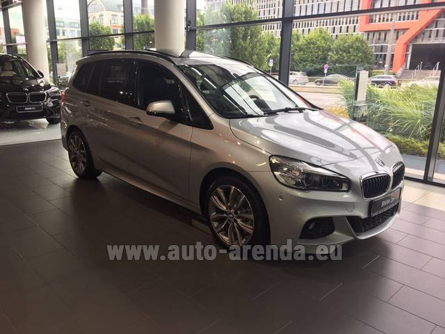 Rental BMW 2 Gran Tourer Equipment M Sport in Milano Lombardia