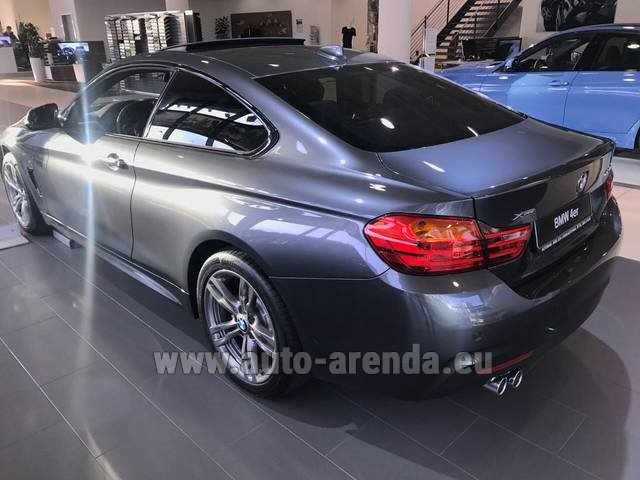 Rental BMW 420d xDrive Coupe M Sportpaket in Milano Lombardia