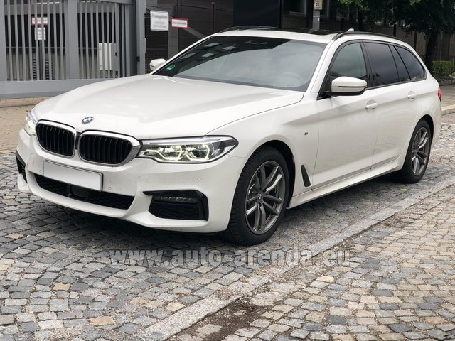 Rental BMW 520d xDrive Touring M equipment in Milano Lombardia