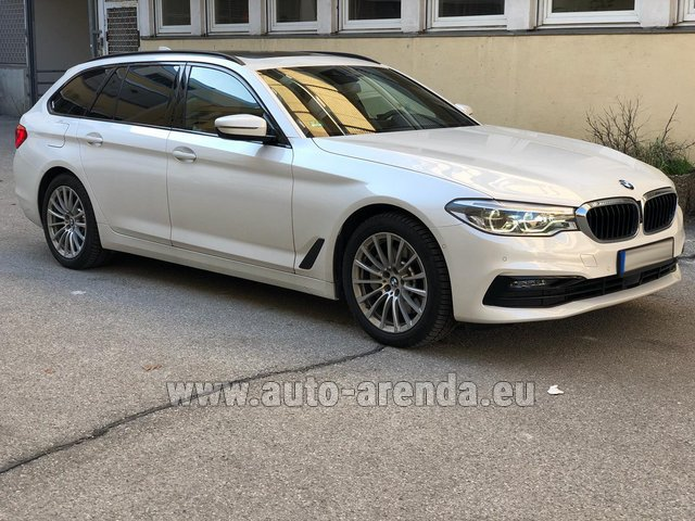 Rental BMW 5 Touring Equipment M Sportpaket in Milano Lombardia