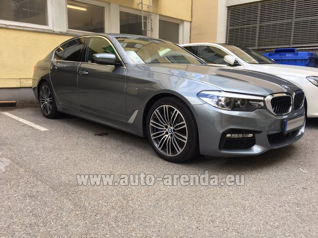 Rental BMW 540i M in Milano Lombardia