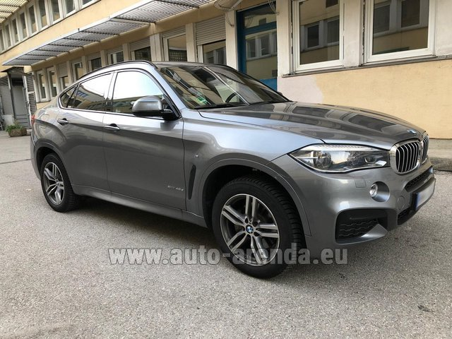 Rental BMW X6 4.0d xDrive High Executive M in Milano Lombardia