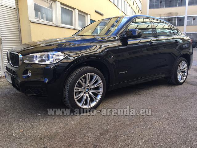 Rental BMW X6 3.0d xDrive High Executive M Sport in Milano Lombardia