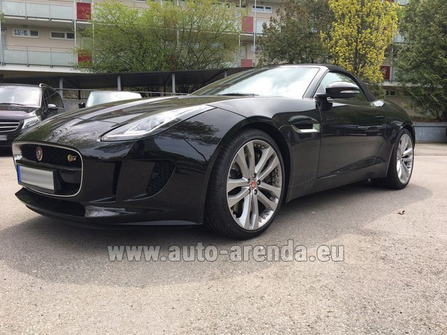 Hire and delivery to the Milano Linate airport (LIN) the car Jaguar F Type 3.0L