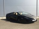 Rent-a-car Lamborghini Huracan Spyder LP 580 with its delivery to the Milano-Malpensa airport, photo 3