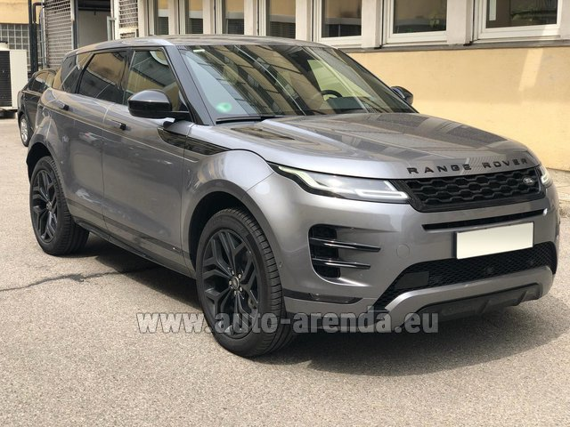 Hire and delivery to the Bresso airport the car Land Rover Range Rover Evoque D180SE