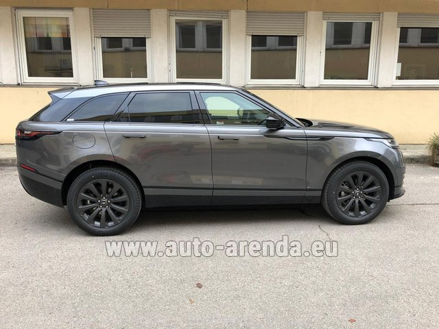 Hire and delivery to the Bresso airport the car Land Rover Range Rover Velar P250 SE