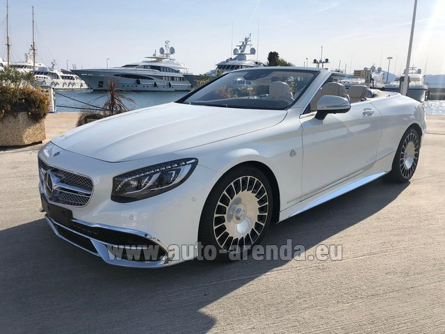 Прокат Maybach S 650 Cabriolet, 1 of 300 Limited Edition в Милане в Ломбардии