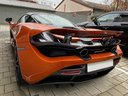 Rent-a-car McLaren 720S with its delivery to the Milano-Malpensa airport, photo 4