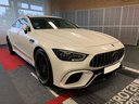 Прокат автомобиля Мерседес-Бенц AMG GT 63 S 4-Door Coupe 4Matic+ и доставка его в аэропорт Брессо, фото 2