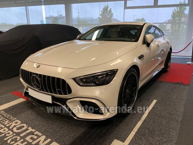 Прокат Мерседес-Бенц AMG GT 63 S 4-Door Coupe 4Matic+ в Милане в Ломбардии