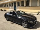 Rent-a-car Mercedes-Benz C 180 Cabrio AMG Equipment Black with its delivery to the Bresso airport, photo 1