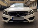 Rent-a-car Mercedes-Benz C-Class C43 AMG Biturbo 4MATIC White in Milano Lombardia, photo 2
