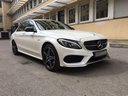 Rent-a-car Mercedes-Benz C-Class C43 AMG Biturbo 4MATIC White in Milano Lombardia, photo 5