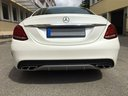 Rent-a-car Mercedes-Benz C-Class C43 AMG Biturbo 4MATIC White in Milano Lombardia, photo 6