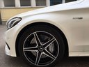 Rent-a-car Mercedes-Benz C-Class C43 AMG Biturbo 4MATIC White in Milano Lombardia, photo 11