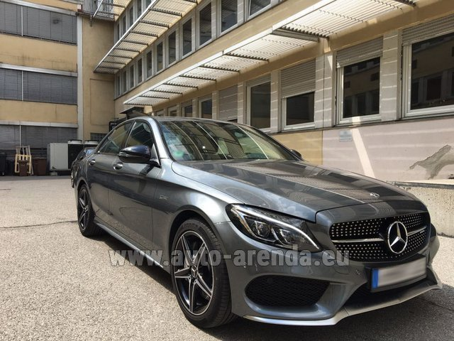 Hire and delivery to the Milano Linate airport (LIN) the car Mercedes-Benz C-Class C43 AMG BITURBO 4Matic
