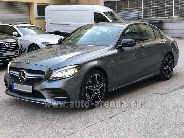 Hire and delivery to the Bresso airport the car Mercedes-Benz C-Class C43 BITURBO 4Matic AMG
