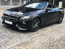 Rent-a-car Mercedes-Benz E-Class E220d Cabriolet AMG equipment with its delivery to the Bresso airport, photo 1