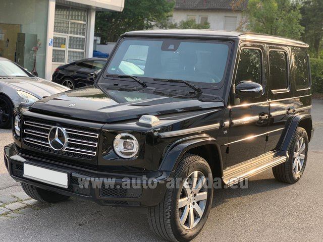 Rental Mercedes-Benz G-Class G500 2019 Exclusive Edition in Milano Lombardia