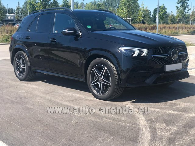 Прокат и доставка в аэропорт Брессо авто Мерседес-Бенц GLE 450 4MATIC AMG комплектация