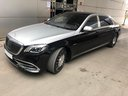 Maybach/Mercedes S 560 Extra Long 4MATIC комплектация AMG для трансферов из аэропортов и городов в Милане в Ломбардии и Европе.