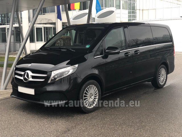 Rental Mercedes-Benz V-Class (Viano) V 300 d 4MATIC AMG equipment in Milano Lombardia