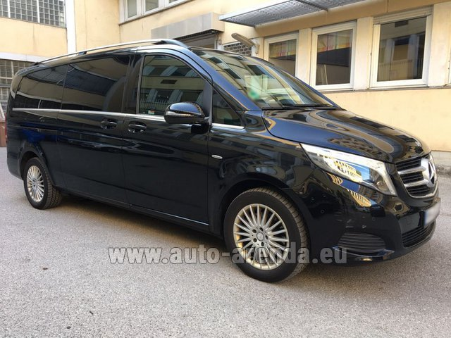 Rental Mercedes-Benz V-Class V 250 Diesel Long (8 seats) in Milano Lombardia