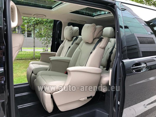 Rental Mercedes-Benz V300d 4MATIC EXCLUSIVE Edition Long LUXURY SEATS AMG Equipment in Milano Lombardia