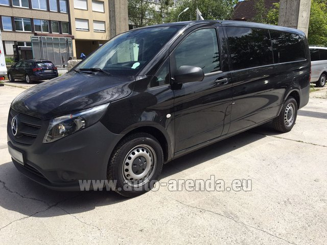 Rental Mercedes-Benz VITO Tourer 116 CDI (9 seats) AMG equipment in Milano Lombardia