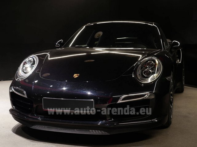 Прокат и доставка в аэропорт Милана Мальпенса авто Порше 911 991 Turbo S Ceramic LED Sport Chrono Пакет