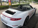 Rent-a-car Porsche 911 Carrera Cabrio White with its delivery to the Bresso airport, photo 2