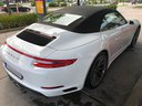 Rent-a-car Porsche 911 Carrera Cabrio White with its delivery to the Bresso airport, photo 3