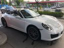 Rent-a-car Porsche 911 Carrera Cabrio White with its delivery to the Bresso airport, photo 1