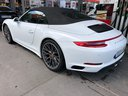 Rent-a-car Porsche 911 Carrera Cabrio White with its delivery to the Bresso airport, photo 6