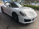 Rent-a-car Porsche 911 Carrera Cabrio White with its delivery to the Bresso airport, photo 8