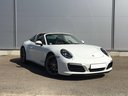 Rent-a-car Porsche 911 Targa 4S White with its delivery to the Milano-Malpensa airport, photo 1