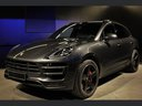 Rent-a-car Porsche Macan Turbo Performance Package LED Sportabgas with its delivery to the Milano-Malpensa airport, photo 1