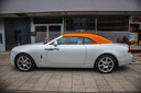 Rent-a-car Rolls-Royce Dawn White with its delivery to the Milano-Malpensa airport, photo 1