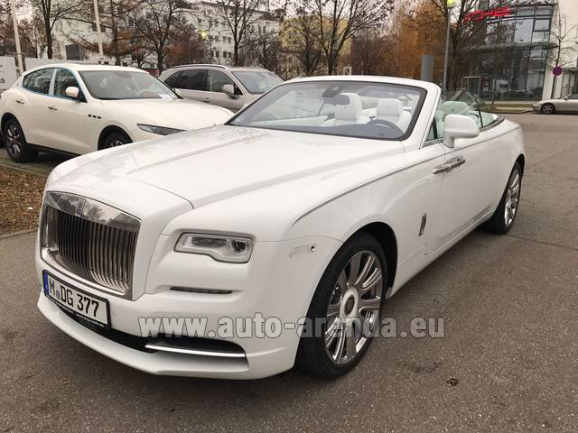 Rental Rolls-Royce Dawn in Milano Lombardia