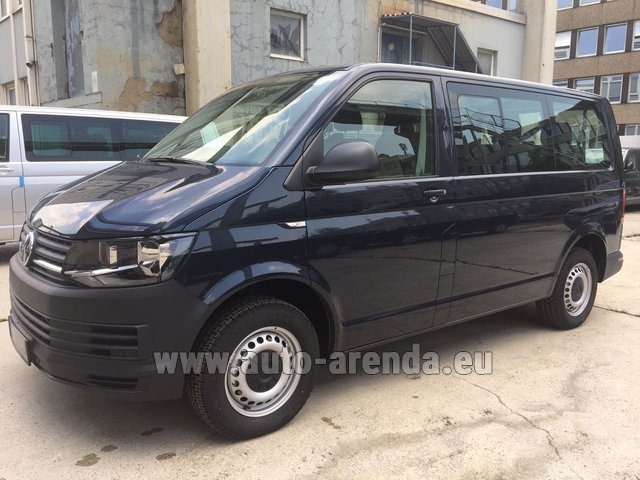 Hire and delivery to the Milan Central Train Station the car Volkswagen Transporter T6 (9 seater)