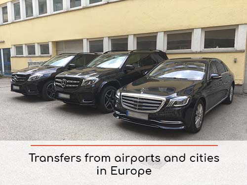 Transfers from airports and cities in Milano Lombardia and Europe | Car rental with driver